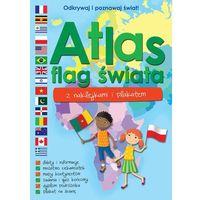 Atlas flag świata. Z naklejkami i plakatem - Opracowanie zbiorowe
