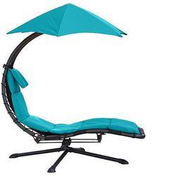 Fotel hamakowy, Niebieski DRM360