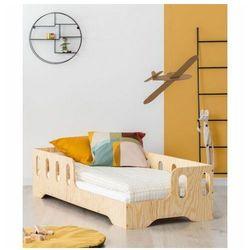 Prawostronne łóżko drewniane dziecięce 16 rozmiarów - filo 2x marki Producent: elior