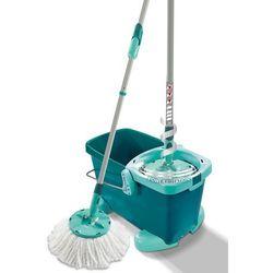 Zestaw clean twist system mop z kółkami + zamów z dostawą jutro! + darmowy transport! marki Leifheit