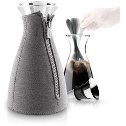 Zaparzacz do kawy Cafesolo dzianina neoprenowa ciemnoszary, 567668