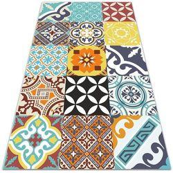 Nowoczesny dywan tarasowy nowoczesny dywan tarasowy mix kolorowych wzorów marki Dywanomat.pl