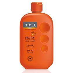 Nikel, Jedwabiste mleczko do ciała z masłem kokosowym, SPF30 UVA/UVB, 230ml z kategorii Pozostałe kosmetyki