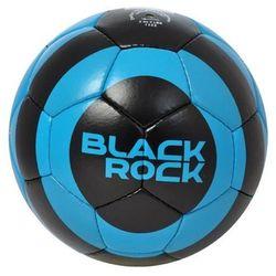 Piłka nożna black rock - czarny/niebieski od producenta Axer sport
