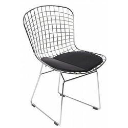 Krzesło dziecięce harry junior czarna poduszka marki D2