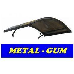 Daszek zadaszenie łukowe drzwi 140 x 90 marki Metal-gum