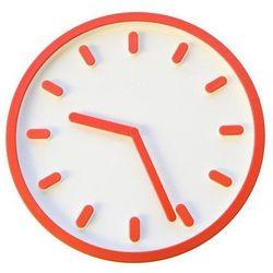 Zegar ścienny Tempo pomarańczowy, ac510-1086