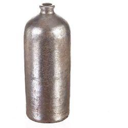 Dekoria Wazon Netherland Bottle silver prada 24cm, 24cm