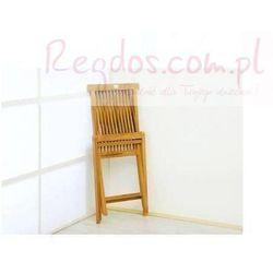 Krzesło ogrodowe drewniane składane