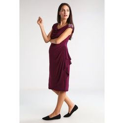 MAMALICIOUS MLDIPSY Sukienka z dżerseju potent purple