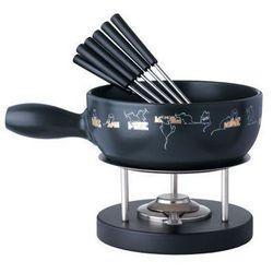 Spring (niemcy/szwajcaria) Mouse - zestaw do fondue (garnek ceramiczny 24 cm, 2 l) firmy spring, kategoria: fondue