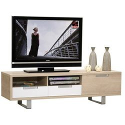 Sciae Stolik pod telewizor drakkar, dąb, 160x45 cm - 15sc9838