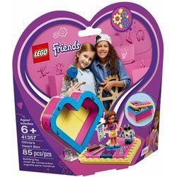 41357 PUDEŁKO W KSZTAŁCIE SERCA OLIVII (Olivia's Heart Box) KLOCKI LEGO FRIENDS, 41357