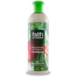 Faith in nature Organiczna odżywka do włosów z ekstraktem z granatu 400ml -