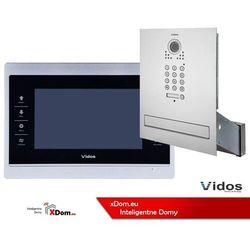 Vidos Zestaw wideodomofonu skrzynka na listy z szyfratorem s561d-skm m901sh