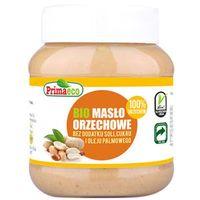 PRIMAECO 360g Masło orzechowe bez dodatku soli i cukru Bio