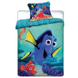 pościel dziecięca dory i nemo, 140 x 200 cm, 70 x 90 cm wyprodukowany przez Jerry fabrics