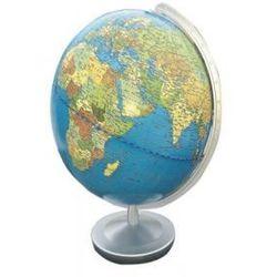 Terra Globus, Meridian und Fuß silberfarben Kunststoff (9783955242916)
