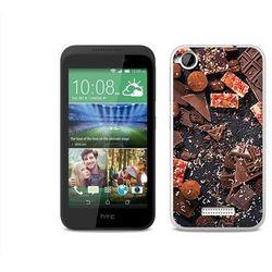 Foto Case - HTC Desire 320 - etui na telefon Foto Case - kawałki czekolady z kategorii Futerały i pokrowce d