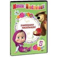 Masza i Niedźwiedź. Część 5: Zakochany Niedźwiedź (DVD) - Oleg Kuzovkov (7321997610816)