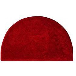 dywanik łazienkowy lex, ruby czerwony, 50x80 cm marki Grund