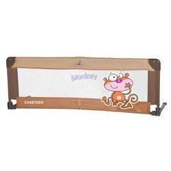 Caretero Safari Barierka do łóżeczka dziecięcego brown - sprawdź w wybranym sklepie