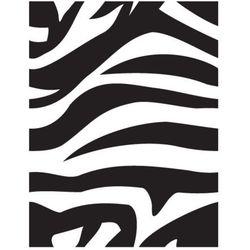 Szabloneria Szablon malarski z tworzywa, wielorazowy, wzór fauna 32 - zebra