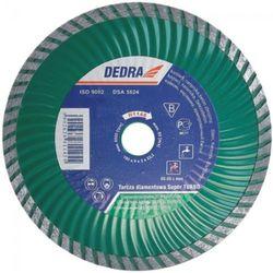 Tarcza do cięcia DEDRA H1147 230 x 22.2 mm super turbo z kategorii Tarcze do cięcia