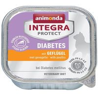 integra protect diabetes z drobiem feline diet 100g marki Animonda