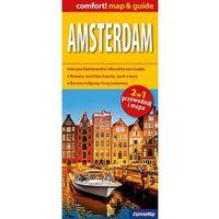 Amsterdam 2w1 Przewodnik+mapa, pozycja wydana w roku: 2015