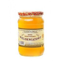 Miód wielokwiatowy nektarowy 540g Rodzinna Pasieka Sudnik (miód)