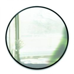 Umbra - Lustro okrągłe Hub 24'' - czarne