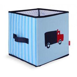 Składane pudło niebieskie autka Penny Scallan