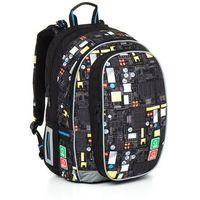Plecak szkolny Topgal CHI 797 A - Black, kolor czarny