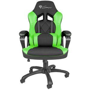 Natec Genesis fotel dla gracza nitro 330 czarno-zielony nfg-0906 - odbiór w 2000 punktach - salony, paczkomaty, stacje orlen