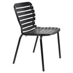 Zuiver krzesło ogrodowe vondel czarne 1700001 (8718548055476)