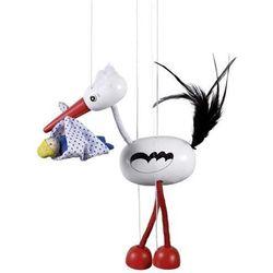 Marionetka dla dzieci - Bocian Adebar - produkt z kategorii- pacynki i kukiełki