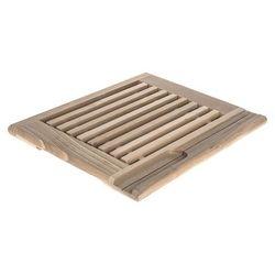 AAA Deska kuchenna drewniana z kratką