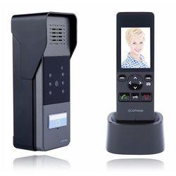 WB201B Wideodomofon bezprzewodowy z funkcją zapisu zdjęć, czarny Comwei, WB201B