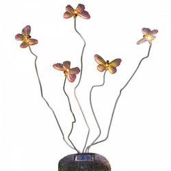 Konstsmide Schmetterling lampa solarna o wyglądzie kamienia - Nowoczesny - Obszar zewnętrzny - Schmetterling