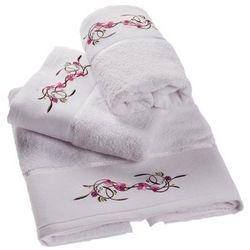 Dekoria  ręcznik castelo biały, 70x140cm