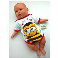 Free juniors Body niemowlęce osa pszczoła krótki rękaw rozm. 74