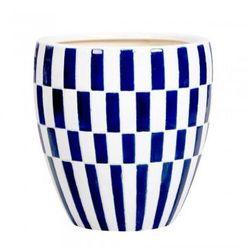 Ceramiczna osłona na donicę Va`ter M - produkt z kategorii- Doniczki i podstawki