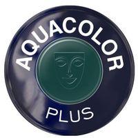 Kryolan AQUACOLOR PLUS (DARK GREEN) Farba do makijażu ciała - DARK GREEN (1102)