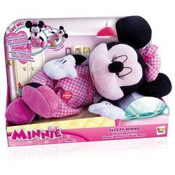 IMC Toys. Disney Minnie. Sleepy Minnie - zabawka interaktywna Śpiąca Minnie [od 18 mies.], rozmiar 30 cm - IMC Toys