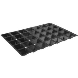 Forma silikonowa do pieczenia 600 x 400 mm, 35 x pyramide | , 676264 marki Hendi