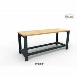 """Malow Stół narzędziowy st 20/01 """"trójka"""" do warsztatu metalowy na klucz"""