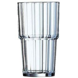 szklanka wysoka arcoroc norvege ø72x(h)114 270 ml (6 sztuk) - kod product id marki Hendi