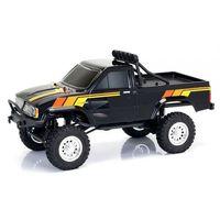 Thunder tiger  toyota hilux 1/12 4wd 2.4ghz pick-up rtr - czarny