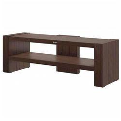 Brązowy stolik pod telewizor - nepo 3x marki Producent: elior